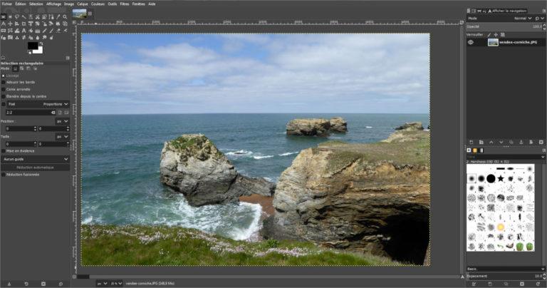 Editer les images avec Gimp